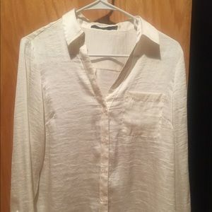 The Limited Silky Blouse
